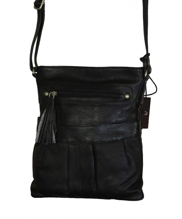 Paul Taylor Leather Crossbody Handbag