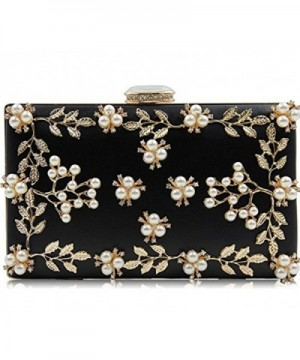 CLOCOLOR Womens Evening Pearls Clutch