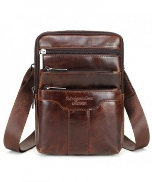 Langzu Genuine Messenger Shoulder Crossbody