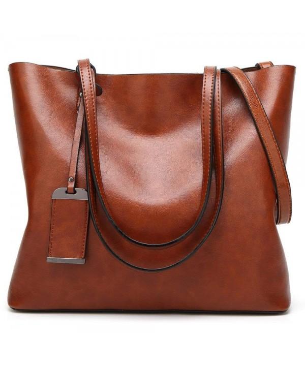 WeiSN Satchel Handbags Shoulder Messenger
