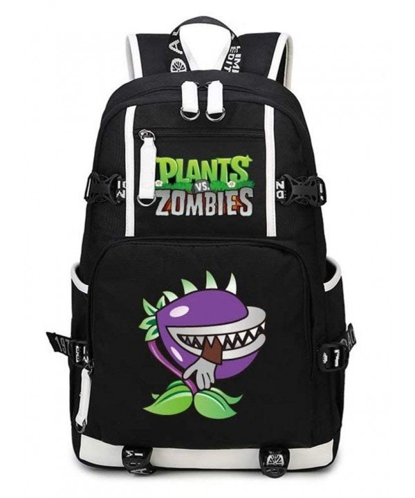 Siawasey Plants Zombie Bookbag Backpack