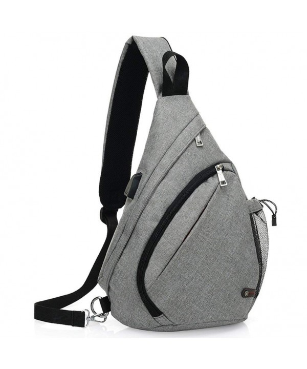 KARRESLY Shoulder Unbalance Triangle Backpack
