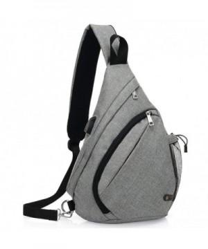 KARRESLY Shoulder Unbalance Triangle Backpack