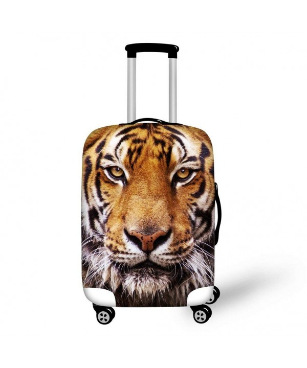 Instantarts Fashion Luggage Protective Suitcase