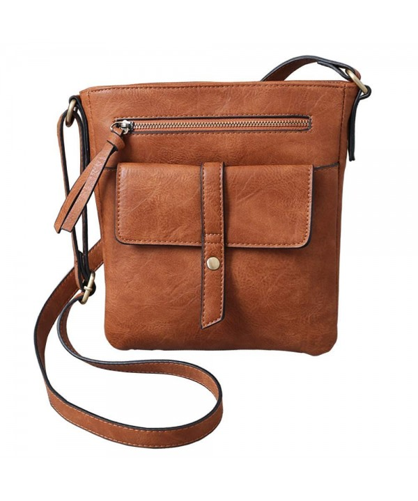 FanCarry Crossbody Shoulder Satchel Apricot