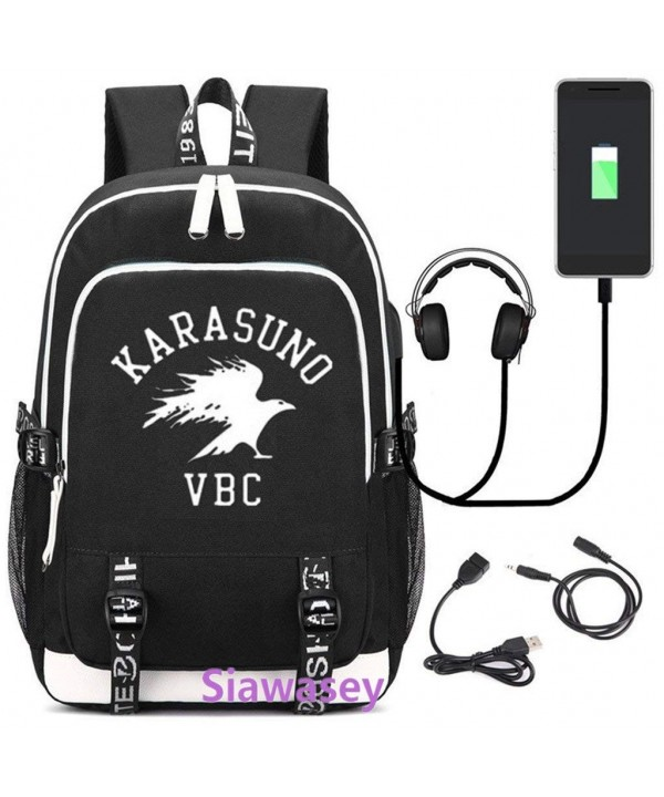 Siawasey Haikyuu Luminous Backpack Charging