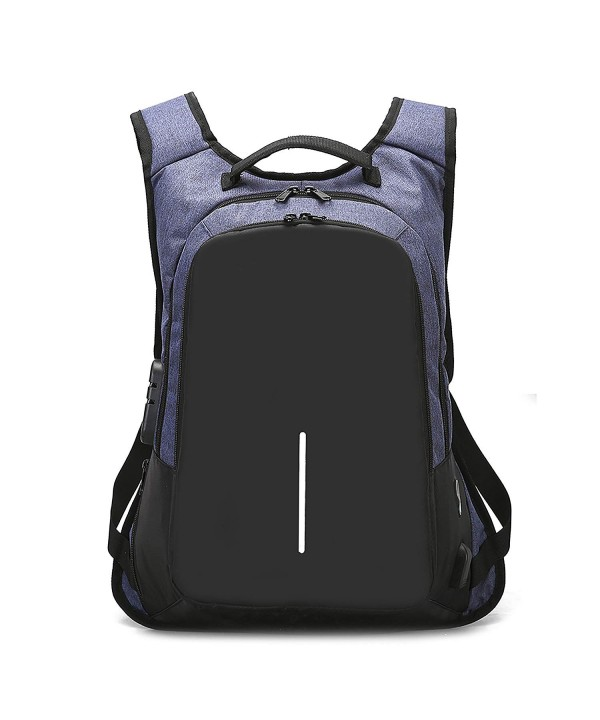 Anti Theft Backpack Charging Headphone JSS11_Blue