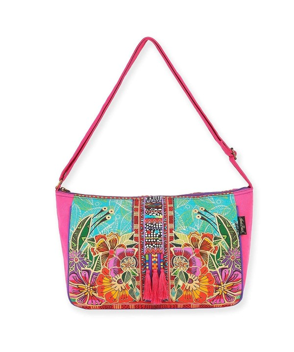 Laurel Burch Crossbody Handbag Flora